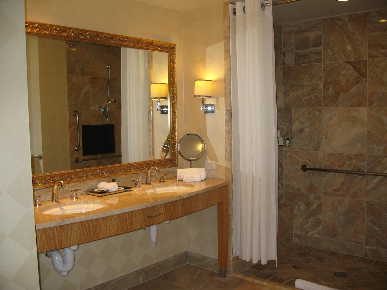 Luzes casa de banho
