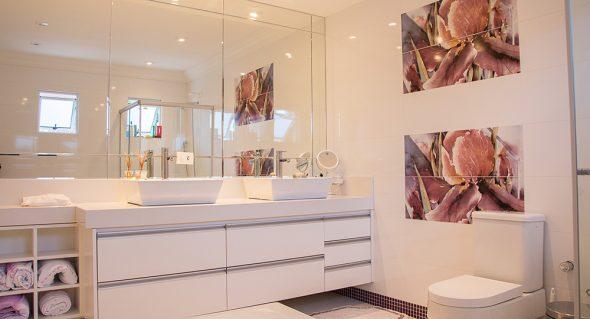 Ideias para banhos com cor
