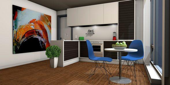 Como adicionar cor à sua cozinha