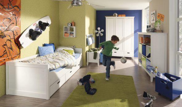 E se o seu filho quiser decorar o próprio quarto?