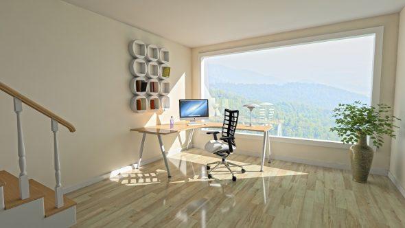 Uma casa para viver e trabalhar, será possível?!?