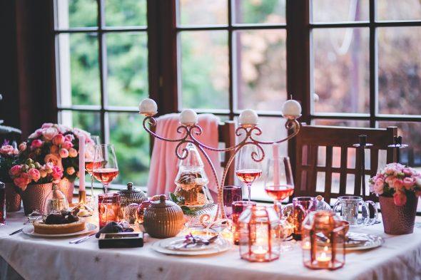 Uma mesa de família ideal para o convívio