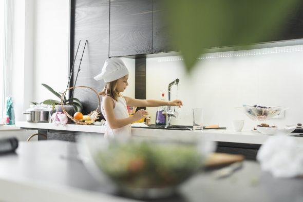 Uma cozinha confortável para todos
