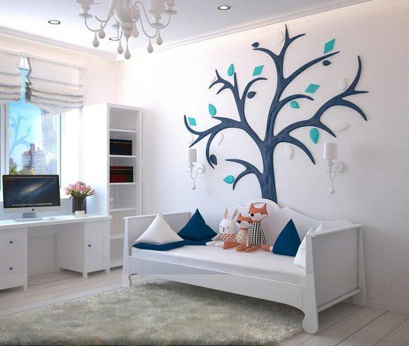 4 ideias para decorar o quarto das crianças