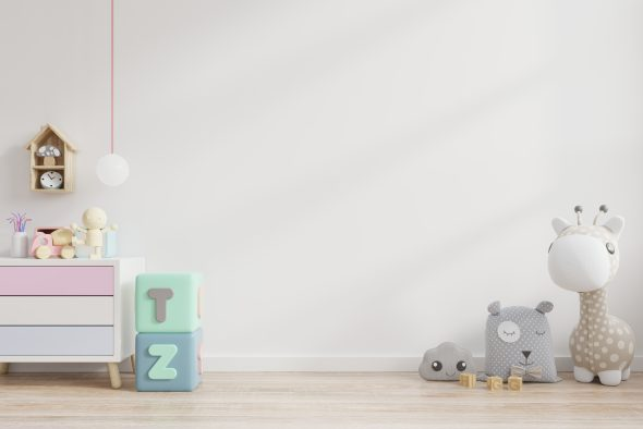 Ideias para organizar o quarto do seu bebé