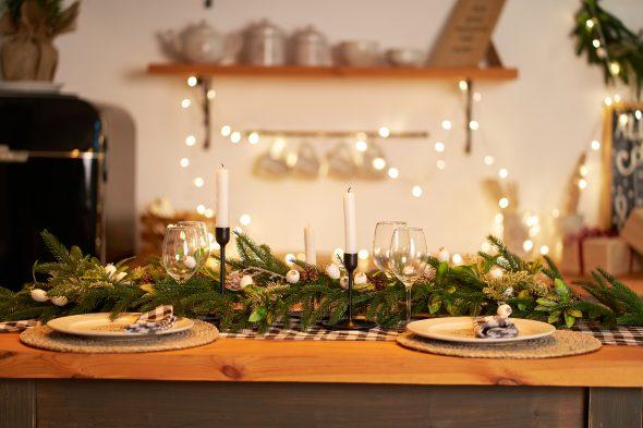 Dicas para preparar a sua mesa para a ceia de Natal